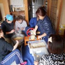 三世代で味噌作り