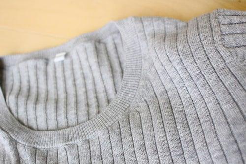 04 アランニットのセーター