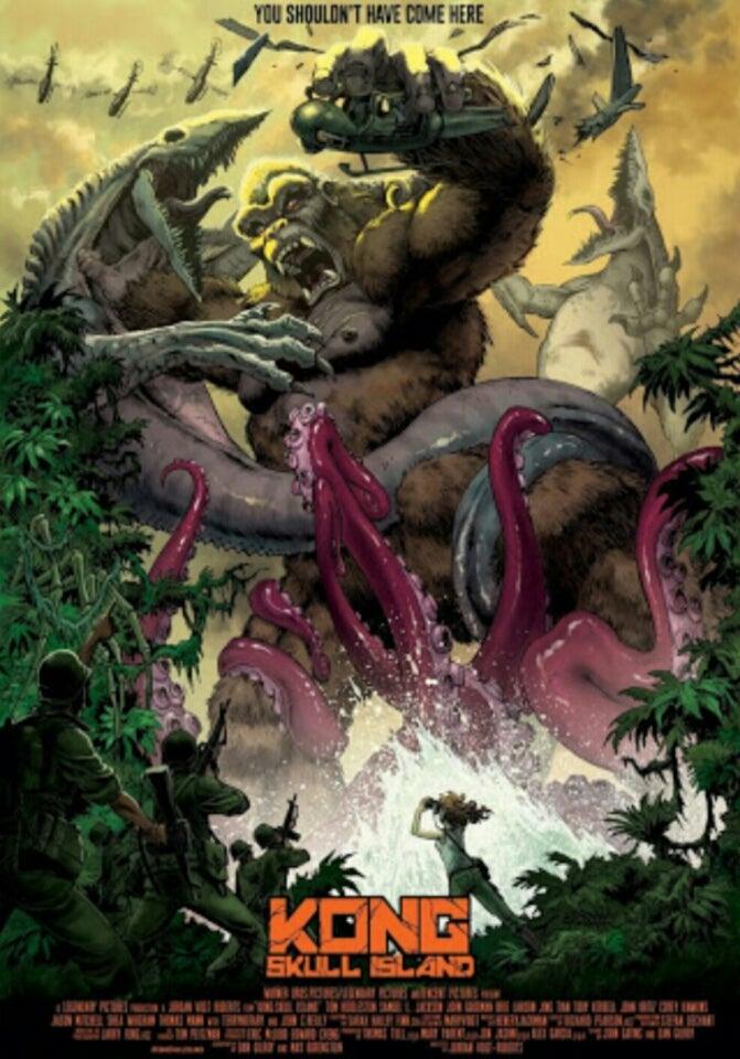 キングコング:髑髏島の巨神』も...