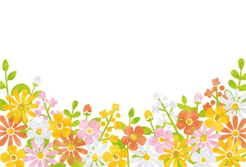 春の花のイメージ花畑 Rkrkのイラスト好きなこといろいろ