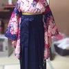 【卒業袴】3月22日のお着付け♪の画像