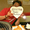 CONiY兄貴の誕生日!の画像