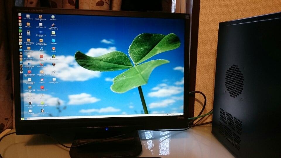 (デュアルCPU\u0026メモリ4G)なので、 軽量OSのBeanがさらに軽く速く感じられる利点を活かした作業ができるp(^^)q