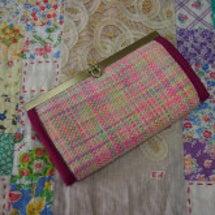 手織りの長財布