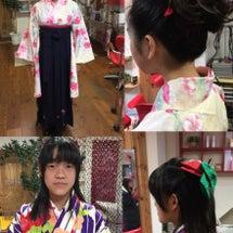小学生 袴スタイル。