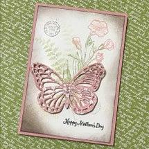 母の日カード・ワーク…