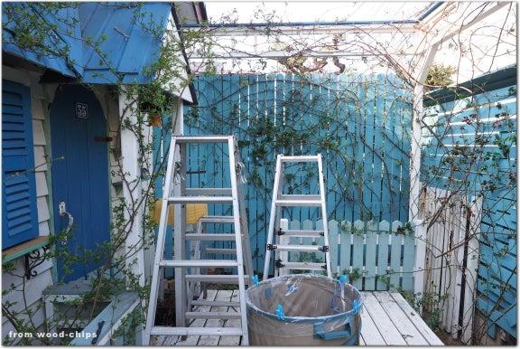 バラを楽しむ庭づくり ウッドチップス ガーデン