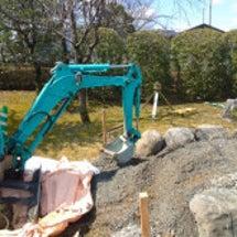 石碑設置工事    …