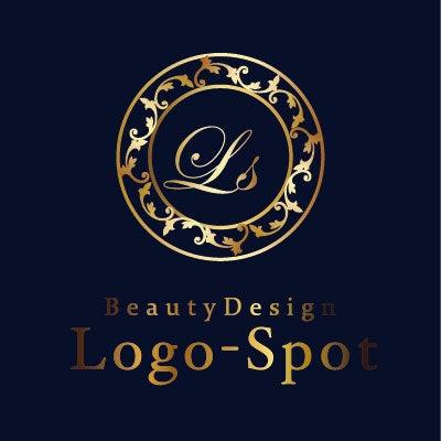 ブラジリアンワックス看板ロゴ,高級感ロゴ作り方
