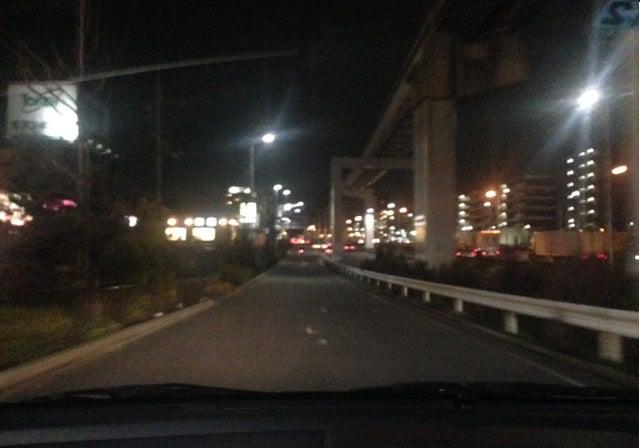 夜の中央環状線にて 北大阪ペーパードライバー
