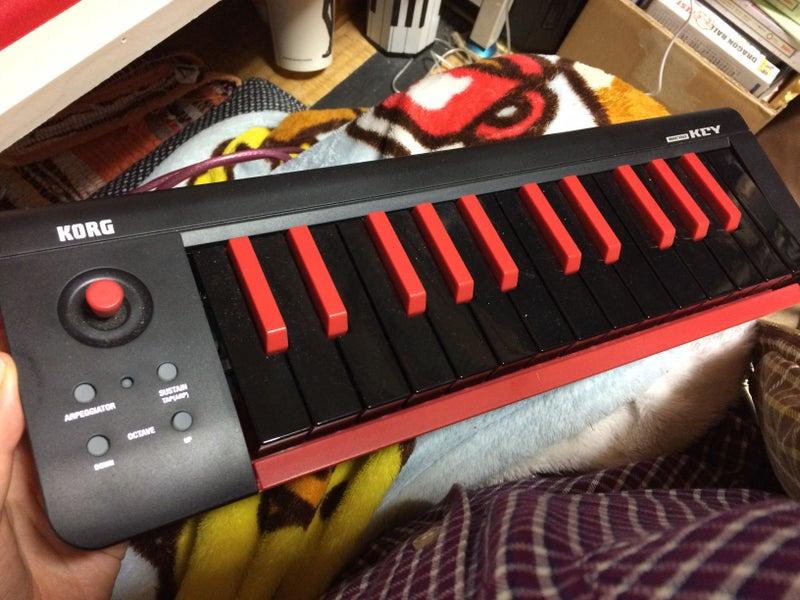 KORG microKEY-25 限定赤黒モデル