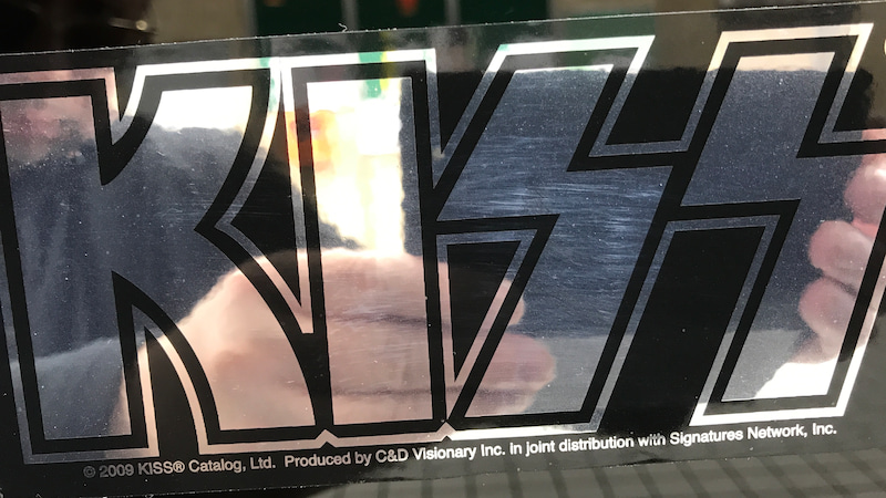 KISS Sticker