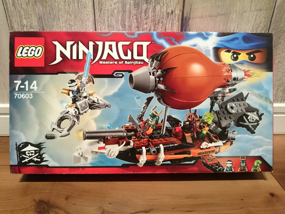 LEGO 70603 ニンジャゴー ドゥブルーンのツェッペリン飛行船
