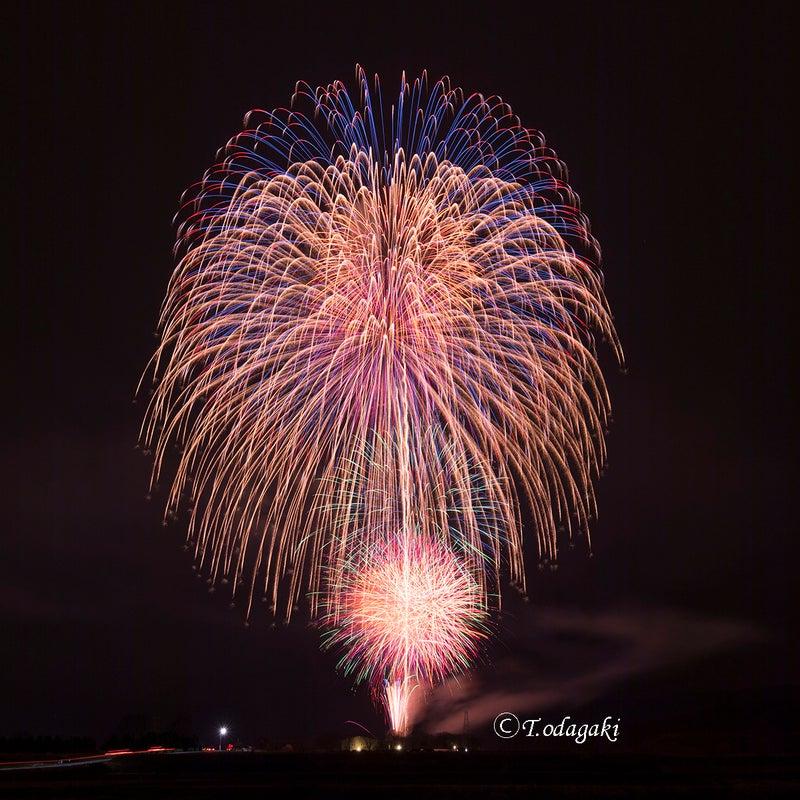 嵐山さくらまつり2017年花火