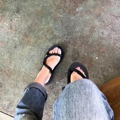 旅のお供:履き心地がよくてソックス履いててもオッケー♪モンベルソックオンサンダルの記事に添付されている画像