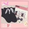 【追記しました】ダイソー購入品♡スカーフリボン&パール付き靴下♡♡の画像