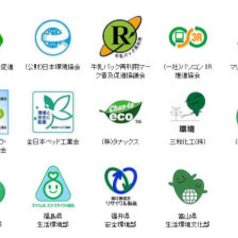 環境 保全 に 役立つ 商品 につけ られる エコ マーク に 書 かれ て いる 言葉 は どれ