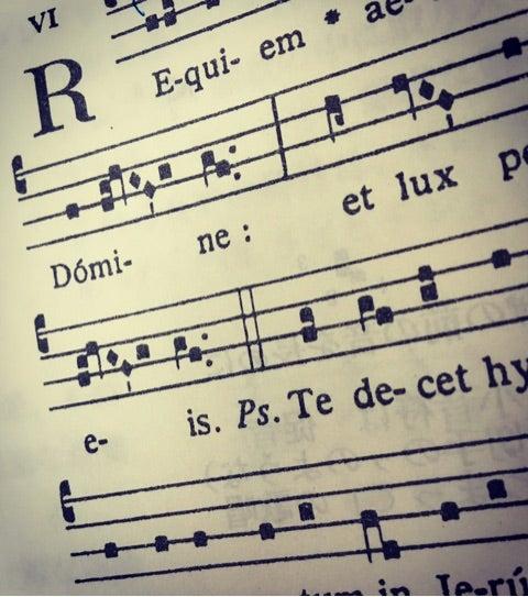 グレゴリオ聖歌とわたし。 | 声楽家・ボイストレーナー・ヨガ ...