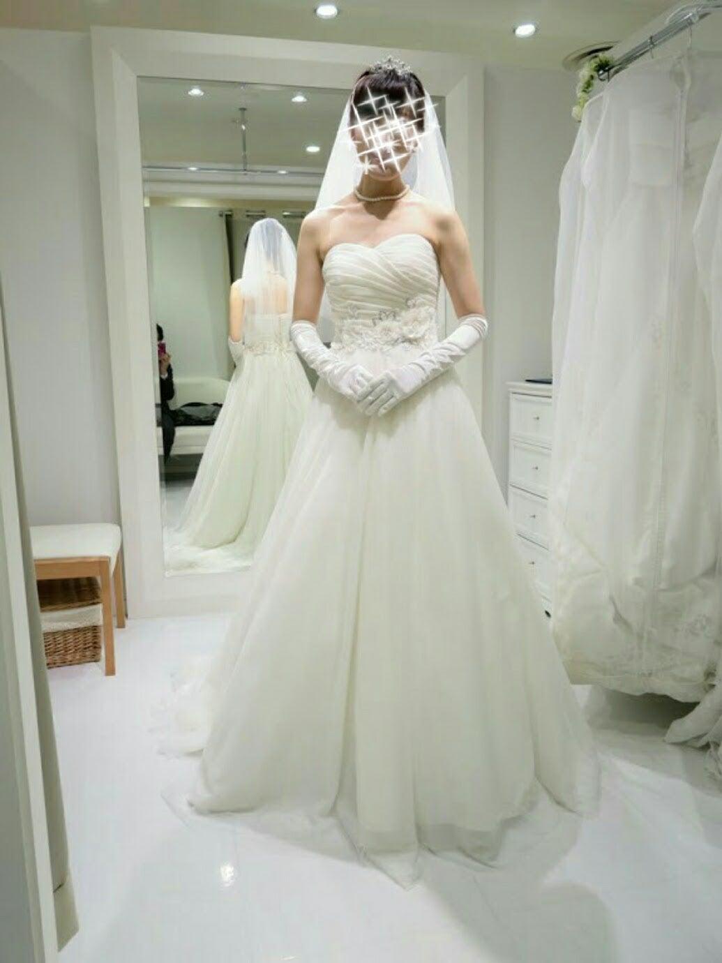 というドレスです ウエディングドレス