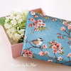 桜色のデコパージュギフトボックスの画像