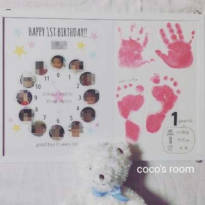 ♡成長時計&手形足型♡の記事に添付されている画像
