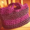 毎日持ちたい!ステキな手編みのバッグ★フックドゥ ズパゲッティの画像