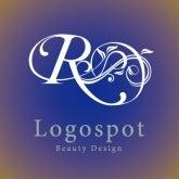 可愛いロゴ作成,エステロゴマーク,イニシャルのエステスサロン看板ロゴ,開店ロゴ注文