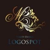 サロンロゴマーク作成,美容シンボルマーク,ロゴデザイン,エレガント美容エステサロンロゴ,おしゃれ看板ロゴ