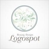 高級感アジアンデザインロゴ,マッサージ整体ロゴ