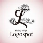 ネイルサロンオープンに高級感ロゴ,美容看板ロゴ