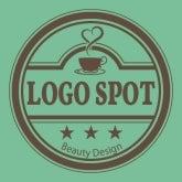 ロゴ作成 美容,サロンロゴ作成,サロン開業看板, 可愛いカフェロゴ作製,おしゃれポーセラーツロゴ