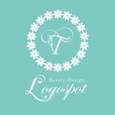 ロゴ作成 美容,サロンロゴ作成,サロン開業看板, ネイル美容サロンロゴ,可愛いショップオープンロゴ