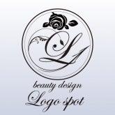 ロゴ作成 美容,サロンロゴ作成,サロン開業看板, オリジナルのサロンイニシャルロゴ,おしゃれロゴ