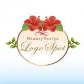 可愛いロゴ作成,看板ロゴ作成,ハワイアンエステロゴ,美容サロンオープン看板ロゴ