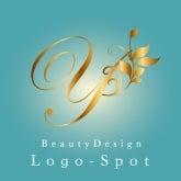 美容院新規オープンに看板ロゴ,イニシャルロゴ作成