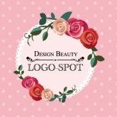 可愛いサロン看板ロゴ,おしゃれ美容サロンロゴ制作