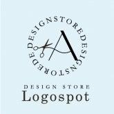 美容室新規オープンに看板ロゴ,イニシャルロゴ作成