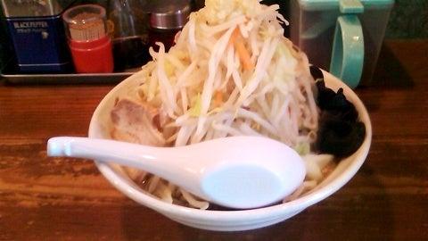 ラーメン豚骨醤油味@ぽっぽっ屋・晴海