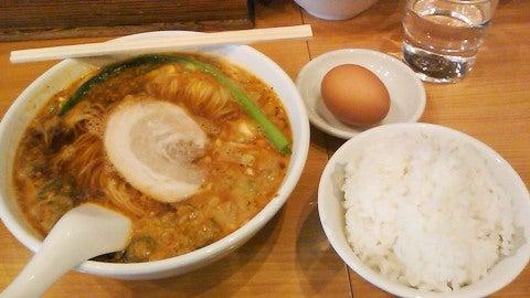坦々麺@我流担々麺 竹子・湯島