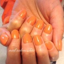 オレンジワンカラー♡