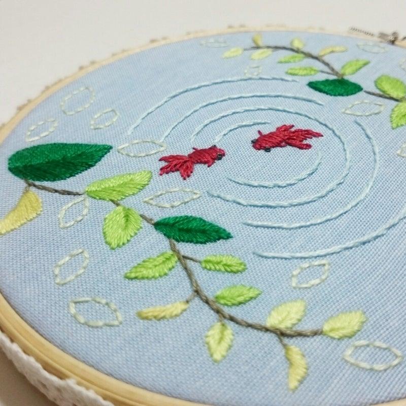 刺繍 図案