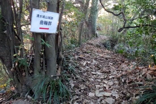 【写4】清水城