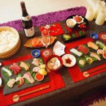 手巻き寿司♡