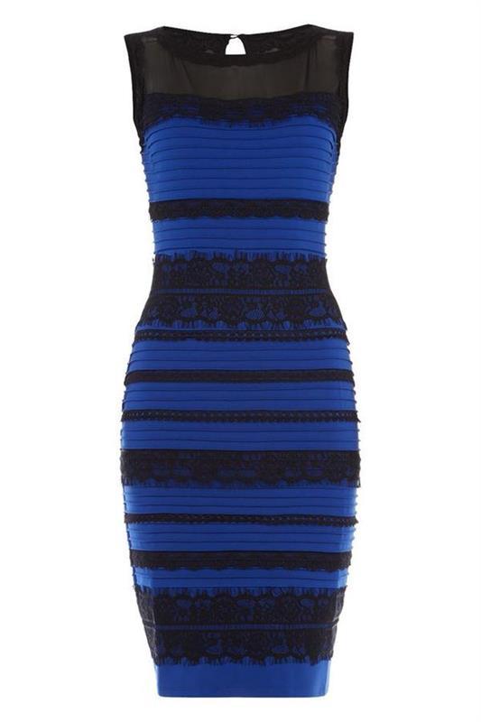 何色に見える?このドレス・・・・またこの話題