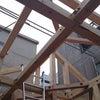 東日本橋で耐震等級3の家が上棟しましたの画像