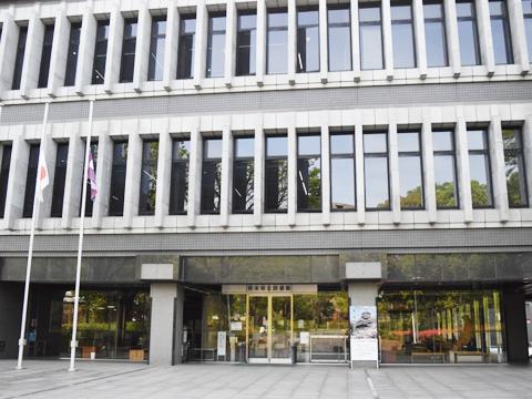 熊本県立図書館 再開