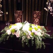 春の会場装花~目黒雅…