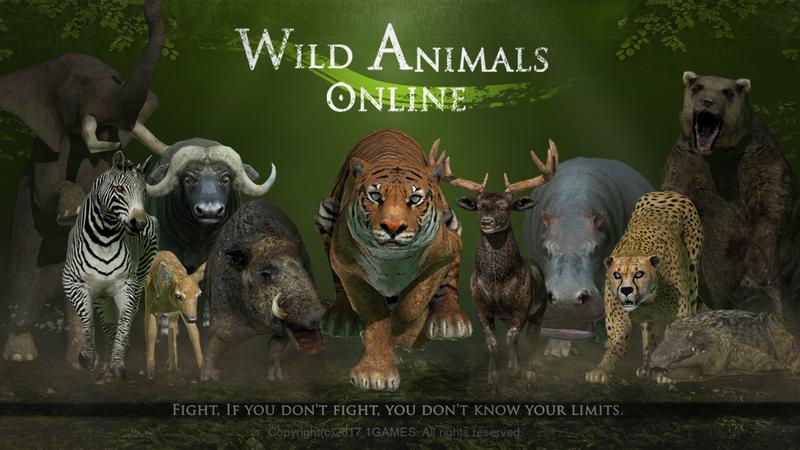 新しいゲームのリリース 野生動物オンライン wild animals online