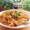*鶏とジュワっと味染み揚げ豆腐のコクうまカレー醤炒め煮*の画像