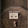 レジンアクセサリー『Jolie la poire』の画像